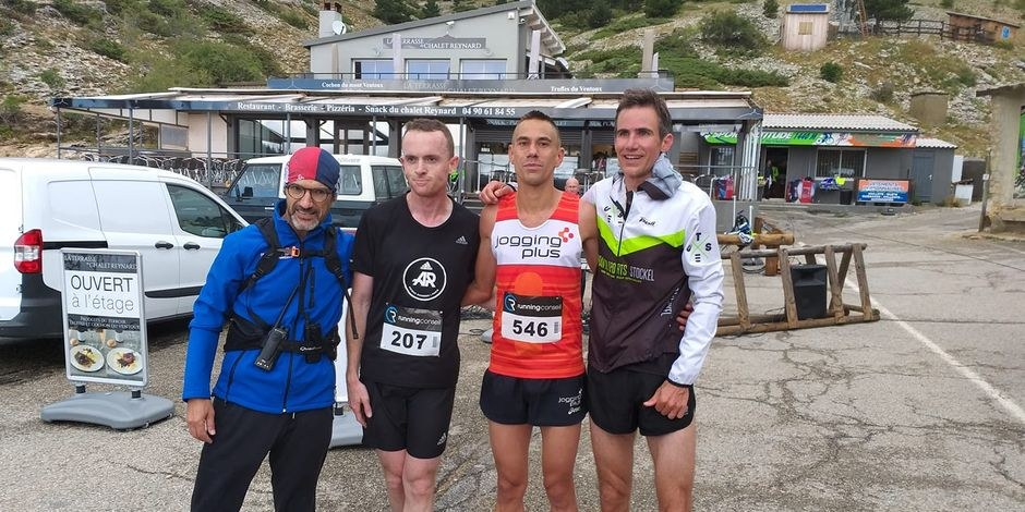 Arnaud Renard remporte le semi marathon du Ventoux!