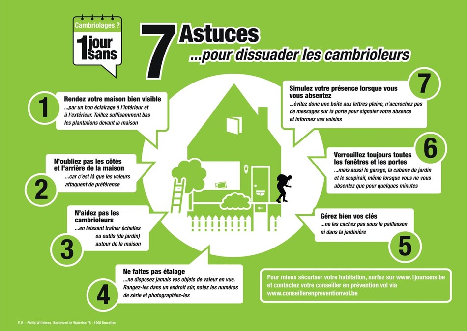 7 astuces prevention vol maison