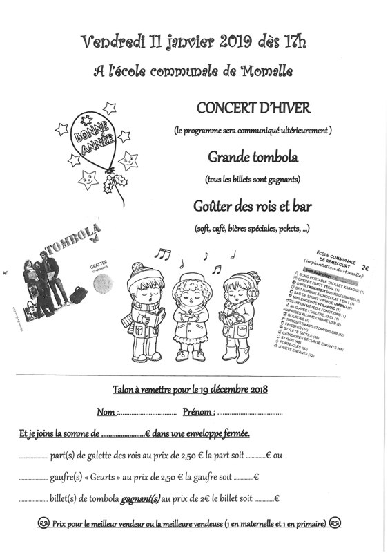 concert hiver ecole