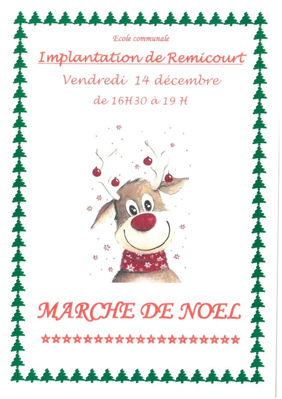 Marché de Noel Remicourt 2018