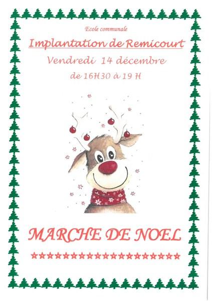 Marché de Noel Remicourt 2018