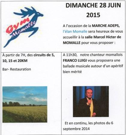 Marche ADEPS - Elan Momalle